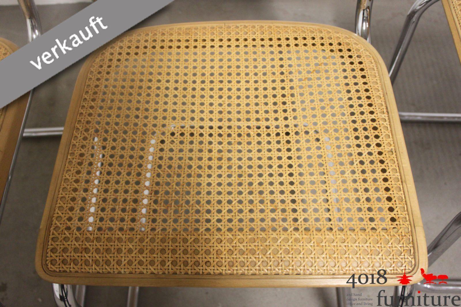 4 x thonet s32 freischwinger buche marcel breuer mart stam. Black Bedroom Furniture Sets. Home Design Ideas