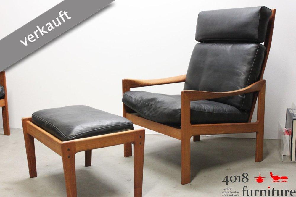 hocker leder schwarz fritz hansen aktion egg chairdas ei sessel fuhocker leder schwarz with. Black Bedroom Furniture Sets. Home Design Ideas
