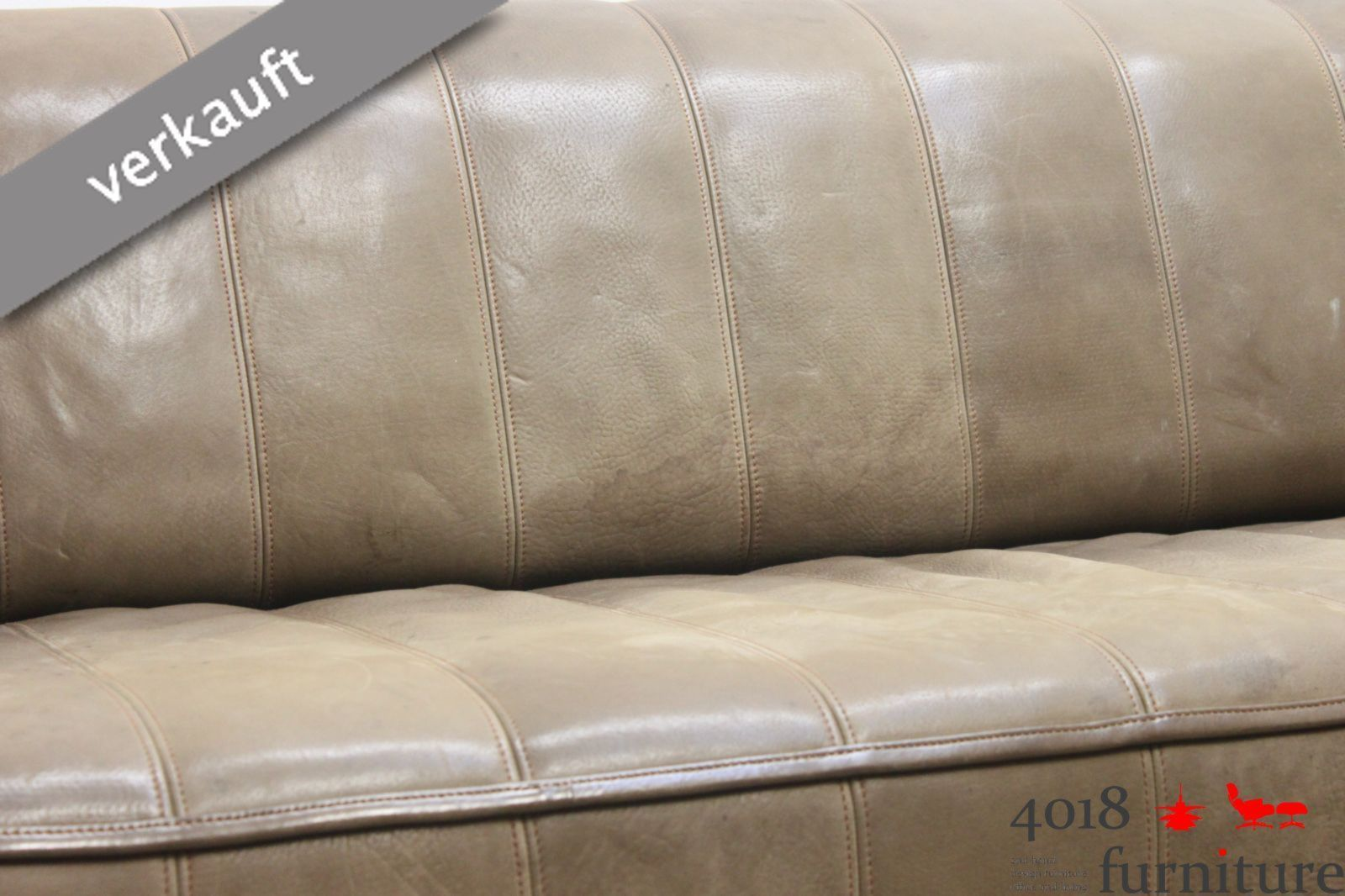 de sede ds 44 neckleder b ffelleder sofa couch canape 3. Black Bedroom Furniture Sets. Home Design Ideas