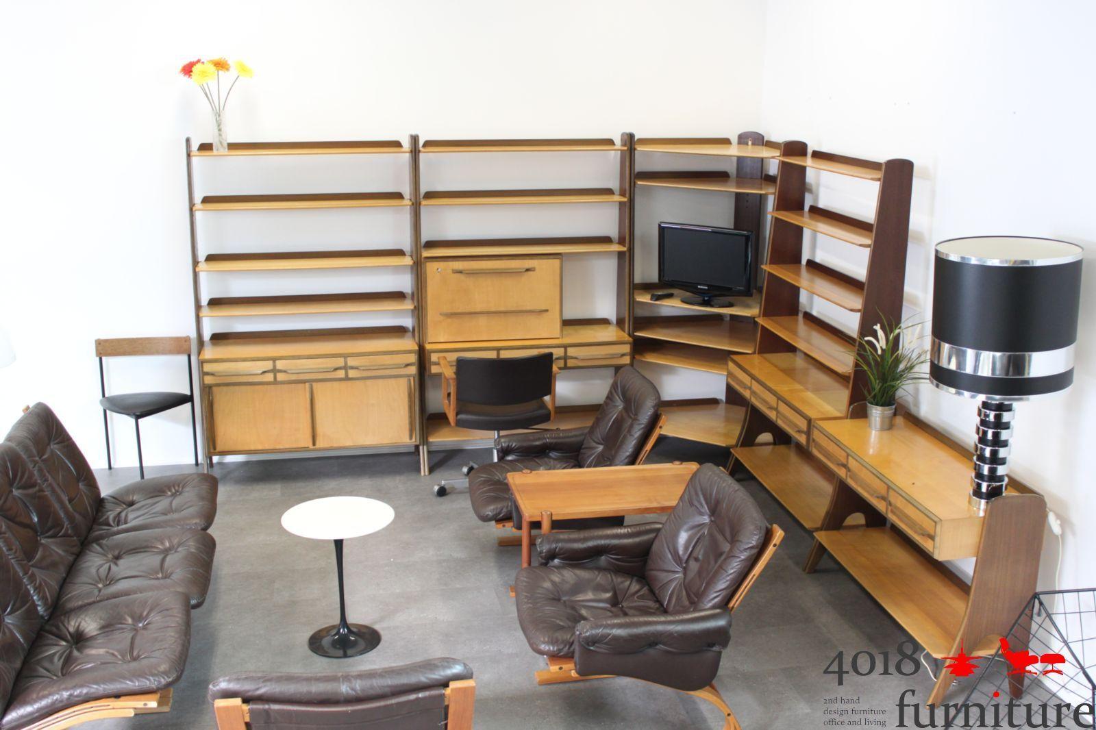 karl nothhelfer pollmann moebel sekretaer. Black Bedroom Furniture Sets. Home Design Ideas