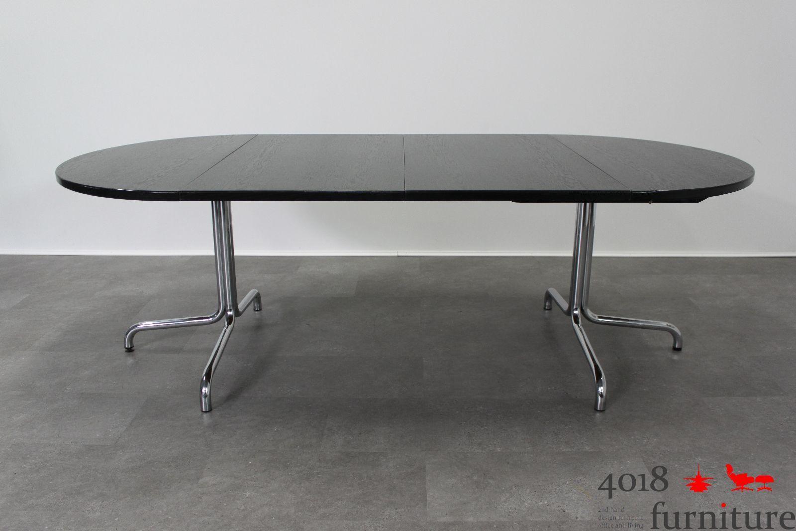 Thonet esstisch s 1052 schwarz bauhaus klassiker for Bauhaus klassiker nachbau