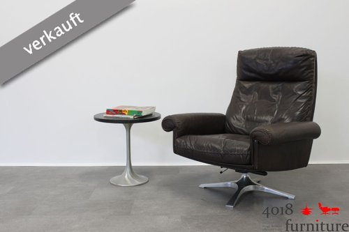de Sede DS 31 Sessel braun Lounge Chair drehbar