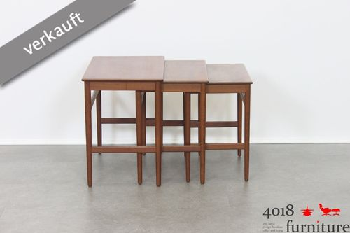 Hans J. Wegner Nesting Tables Andreas Tuck